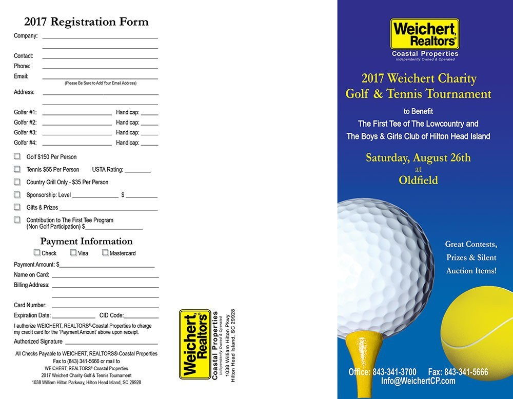 2018 Weichert Charity Golf & Tennis Tournament at Oldfield