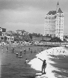 It Is November 13 1938 And The Stage Set For First National Surfing Championship In Long Beach With Waves Like Those Waikiki Played