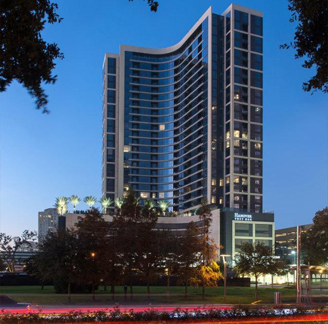New High Rise Building For Lease In Houston
