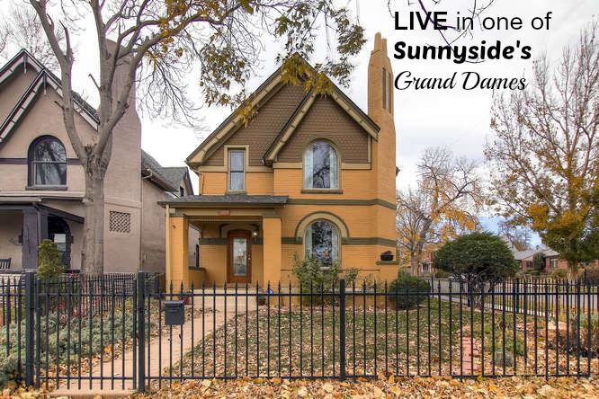 Beautiful Updated Sunnyside Denver Co Victorian Denver